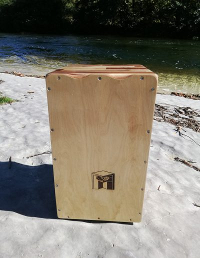 CAJON olivier double face