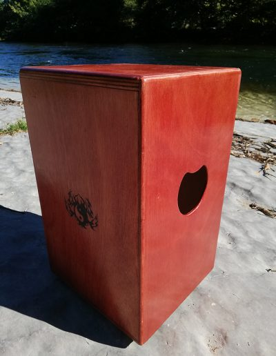 CAJON Acacia double face